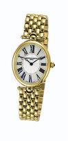 Frederique Constant ladies' gold-plated bracelet watch