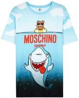 Moschino Swim Printed Cotton T-shirt