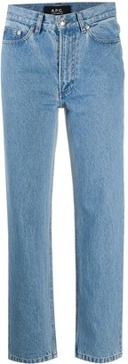 A.P.C. Straight-Leg Cropped Jeans