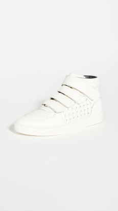 Zimmermann High Top Velcro Strap Sneakers