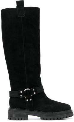 Sergio Rossi Motor knee-high boots
