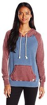 Billabong Juniors Taking Names Color Block Pullover Hoodie