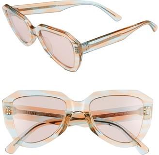 Celine 52mm Geometric Sunglasses
