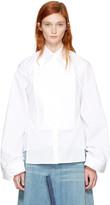 MM6 MAISON MARGIELA White Backless Shirt