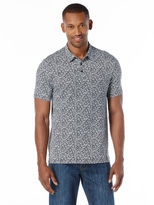 Perry Ellis Big and Tall Exclusive Leaf Print Polo
