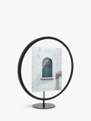 Umbra Infinity Round Photo Frame, Black