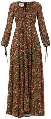 Gucci Liberty Floral Print Maxi Dress