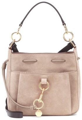 See by Chloe Tony Small suede bucket bag