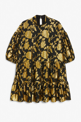 Monki Mini trapeze dress