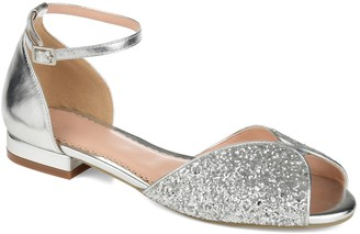 Journee Collection Verona Sparkle Flat