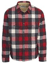 Woolrich Men's Mill Wool Quilted Shirt Jac