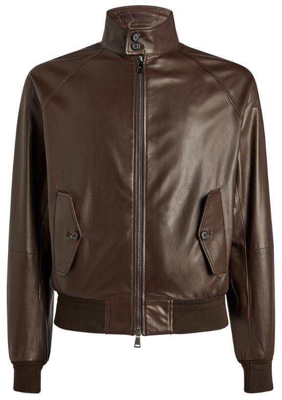 Thumbnail for your product : Ralph Lauren Purple Label Leather Jacket