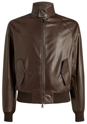 Ralph Lauren Purple Label Leather Jacket