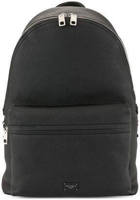 Dolce & Gabbana Logo Plaque Backpack