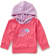 The North Face Baby Girls 3-24 Months Long Sleeve Hike/Water Hooded Tee