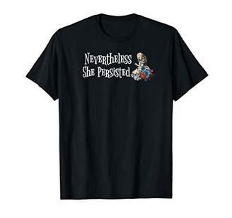 Political Feminist Shirt Women Nevertheless She Persist T-Shirt