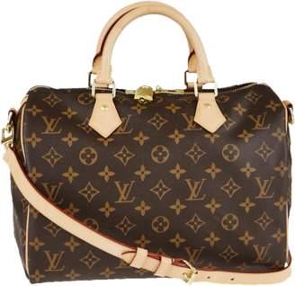 Louis Vuitton Speedy Bandouliere Monogram 30 Brown