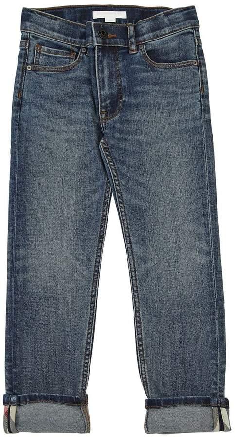 Burberry Skinny Stretch Cotton Denim Jeans