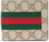 Gucci GG Supreme bill-fold wallet