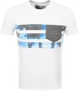 Superdry California Photo T Shirt White