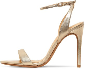 Alexandre Birman 100mm Santine Lea Leather Sandals