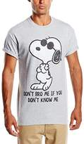 Peanuts Men's Don't Bro Me Short Sleeve T-Shirt