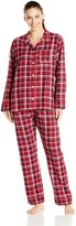 Bottoms Out Women's Cotton Flannel Pajama Set