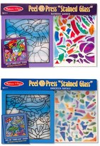 Melissa & Doug Toddler 'Undersea Fantasy & Rainbow Garden' Peel & Press Sticker Kits