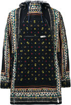 Sacai poncho style coat - men - Cotton - 2
