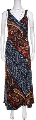 Marc by Marc Jacobs Marc by Marc Jacob Multicolor Paisley Printed Sleeveless Maxi Dress M