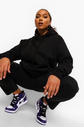 boohoo Plus Mix And Match Oversized Hoodie