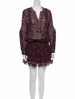 Ulla Johnson Silk Mini Dress
