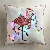 Pier 1 Imports LED Light-Up Flamingo PIllow