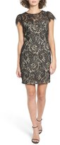 Soprano Lace Cap Sleeve Dress