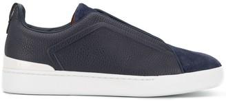 Ermenegildo Zegna Triple Stitch Slip-On Sneakers