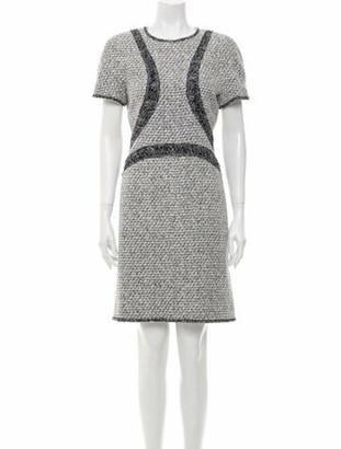 Chanel 2013 Knee-Length Dress Grey