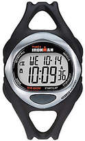 Timex Unisex Black Ironman 50-Lap Watch w/ Indiglo