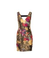 Nicole Miller Flora Fauna Dress