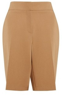 Dorothy Perkins Womens Camel Tailored Shorts