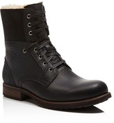 UGG Laurus Leather Military Boots