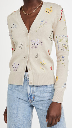 Floral Embroidered Simone Cardigan