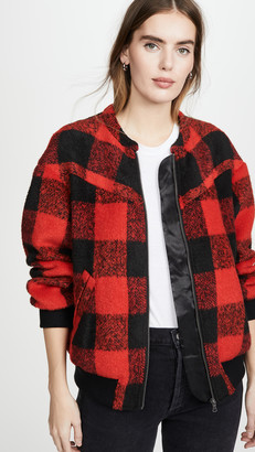 Rebecca Minkoff Brenda Quilted Bomber