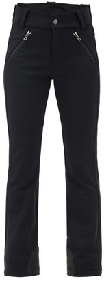 Bogner Haze High-rise Soft-shell Bootcut Ski Trousers - Black