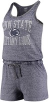 Unbranded Women's Concepts Sport Heathered Navy Penn State Nittany Lions Squad Romper
