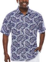 Steve Harvey Short-Sleeve Shirt - Big & Tall