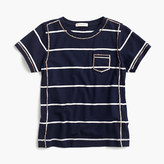 J.Crew Girls' sequined striped T-shirt