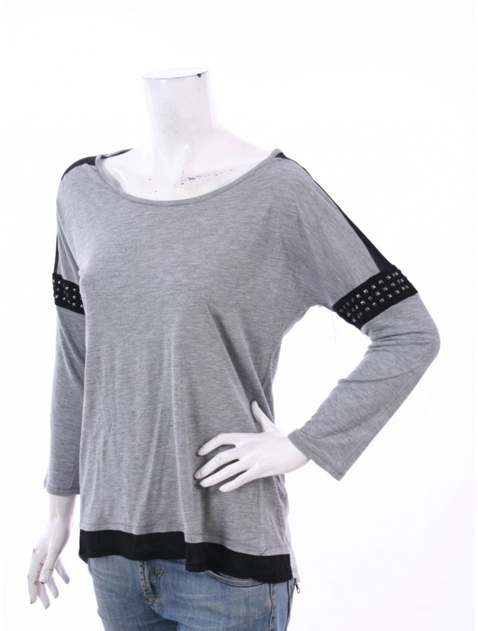 Vince Camuto Grey Viscose Tops