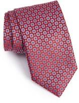 Canali Men's Geometric Silk Tie