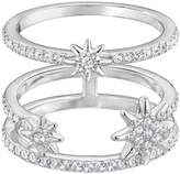 Swarovski Fizzy White Crystal Star Ring Set 5257486