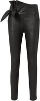 IRO Alpen Leather Skinny Pants